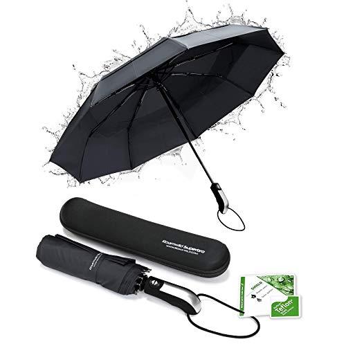 New - Roamwild SuperBRO 'Teflon' Cadre à nervures renforcées par 9X et auvent ventilé | Parapluie...