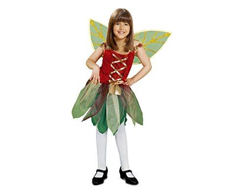 Imagen de my other me  disfraz de hada del bosque para niña, 5 6 años viving costumes 200726