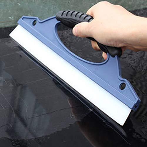 HIUGHJ Haushaltsreinigung Glasscheibenwischer Seifenreiniger Rakel Dusche Bad Spiegel Auto Klingenbürste