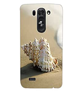 ColourCraft Shell Design Back Case Cover for LG G3 S