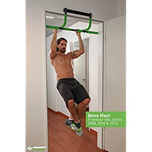 Schildkröt Fitness Multifunktions-Türreck 4 in 1, Multifunktional verstellbar, max. 100 kg, 960044