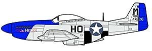 Oxford Diecast 1:72 - Escala Mustang P51 Authenic Livery Modelo Aviones de la colección WWII