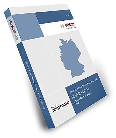 Blaupunkt E EX Tele Atlas TomTom - Deutschland 2016 + Hauptstraßen Europas - 2 CD Version