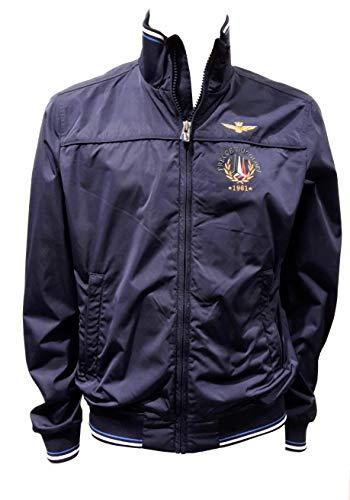 Aeronautica militare giubbotto ab1718 blu navy uomo, giacca, polo, pantalone, felpa (l it 50)