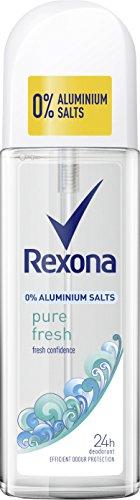 Rexona Desodorante Spray pulverizador Pure Fresh sin