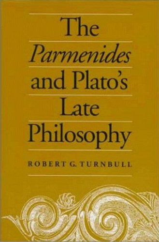 Parmenides & Platos Late Philo: Translation of and Commentary on the