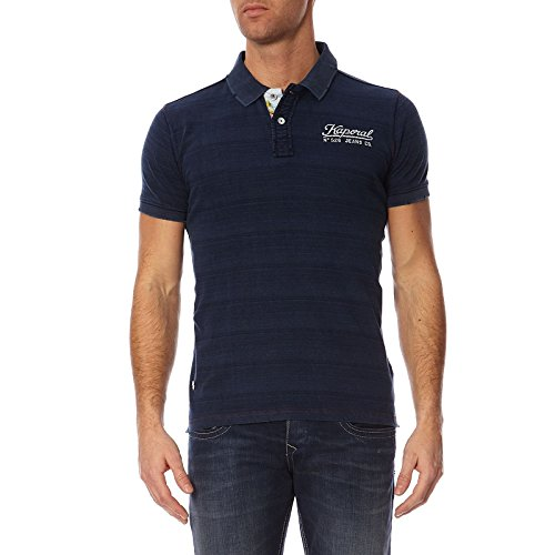 Kaporal Herren Poloshirt Lalua Blau - Bleu (Denim Blue)
