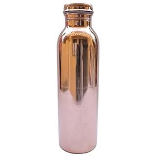 AVS Store® Traveller 's Pure Kupfer Wasser Flasche für ayurvedische Gesundheit Vorteile Gelenk frei, auslaufsicher