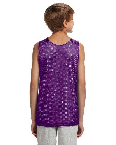A4 Herren Pullunder Purple/White