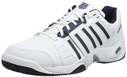 K-Swiss Performance Accomplish Iii, Scarpe da Tennis Uomo, Bianco (White/Navy 109-M), 42.5 EU