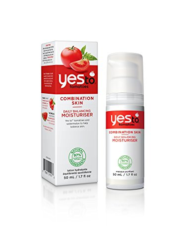 Yes To Tomatoes Daily Balancing Moisturiser, 1er Pack (1 x 50 g) -