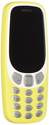 nokia 3310 3g telefono cellulare, memoria interna da 64 mb, giallo [italia]