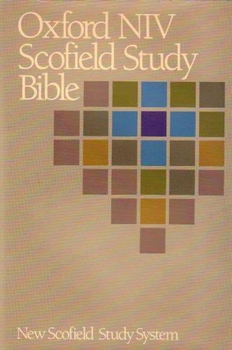 Oxford Niv Scofield Study Bible: New International Version (1984-09-03) (Scofield Study Bible-niv)