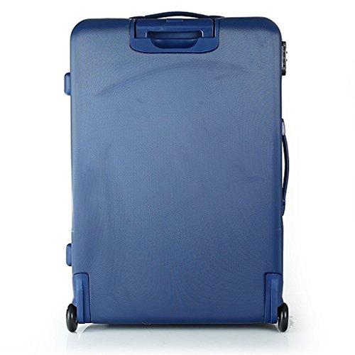 Reisekoffer Dielle CH20 Koffer 74x51x27 cm (anthrazit) blau