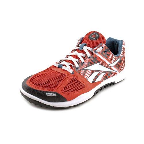 Reebok Crossfit R Nano Shoe 2.0 Formazione Rosso/bianco/blu (Excellent Red/White/Blue/Steel) Footaction Descuento deYNCP2hLv