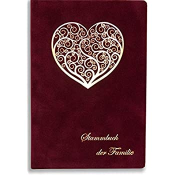 AUSVERKAUF Stammbuch Glamour standard blau Familienbuch Stammbuch der Familie