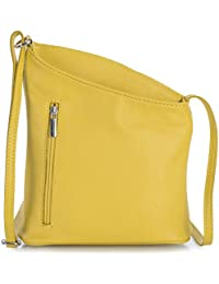 f5be7bf3e3dd Joy by LiaTalia Womens Girls Mini Genuine Soft Leather Fabric Lining Cross  Body Cross-Body Shoulder Bag…