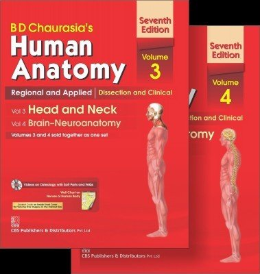 Human Anatomy: Regional and Applied Dissection and Clinical set of Volume 3 and 4