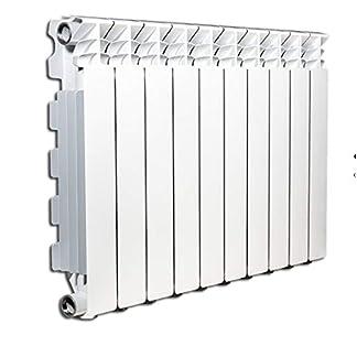 Radiador de calentamiento de agua o Vapor Elementos de Aluminio fundido Marca: fondital Mod. exclusivo B3600/100distancia entre ejes 600mm