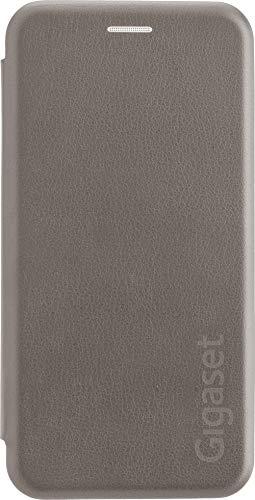 Gigaset Book Case (R&um Schutz vermeidet Schäden, anti-scratch, Full Body Schutzhülle, mit 360°, Zubehör geeignet für GS185 Smartphone) cognac