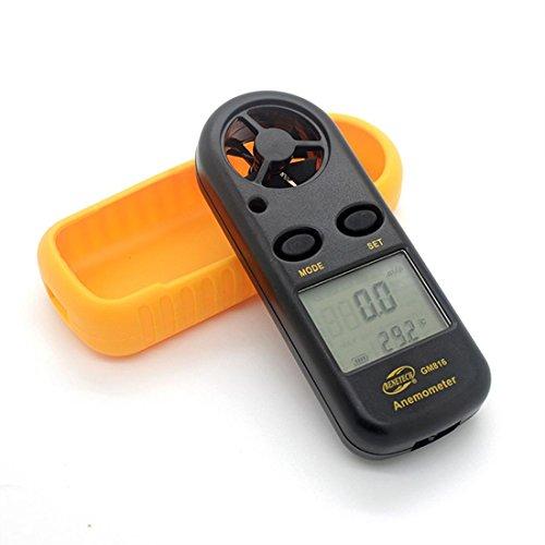 Digital-Anemometer-Instrument zur Messung der Windgeschwindigkeitsmesser Windrichtung Meter Thermo-Anemometer Wireless-Anemometer GM816