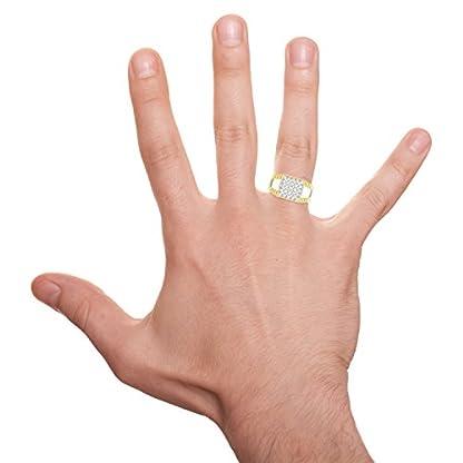 PC Jeweller The Loket 18KT Yellow Gold & Diamond Rings