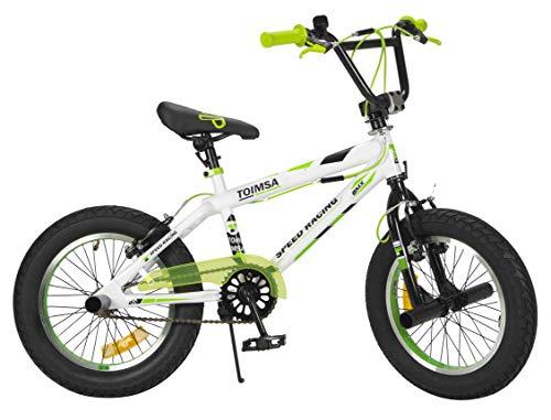 TOIMSA - Bicicleta BMX Freestyle de 16 Pulgadas, 5 a 8 años, 536