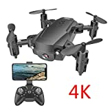 Explea Drone Guard con videocamera HD 1080P Portatile RC Quadcopter modalità Headless 3D Flip And Rolls Giocattoli Drone Guard e videocamera per Adulti 1080P HD Effectual