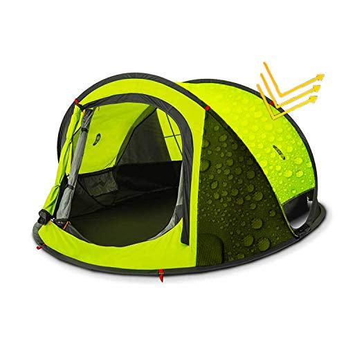 Zenph Tenda da Campeggio 2 posti, Automatico Pop up Tenda Impermeabile Leggero...