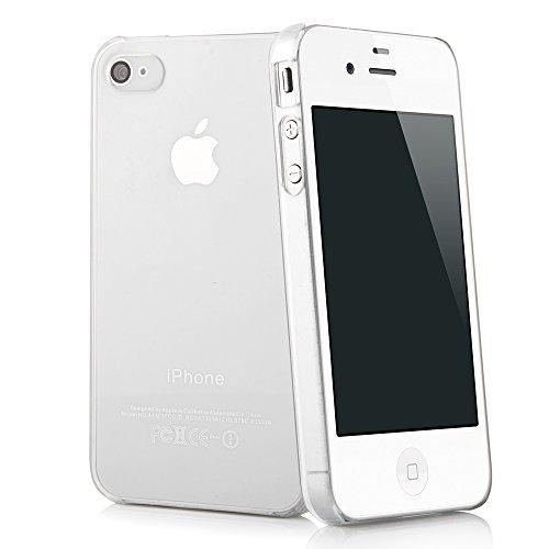 Quadocta Smartphone Ultra Slim Case–Cover–Crystal Trasparente–Ultra Sottile Smartphone Cellulare–Trasparente Case iPhone 4/4S