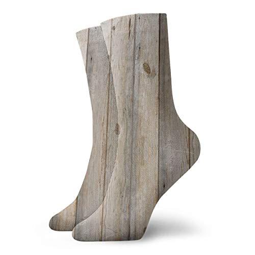 Ye Hua Calcetines divertidos - Reclamado Planks_713 Pintura Arte Impreso Divertido Novedad Animal Algodón Casual Calcetines de tripulación 11.8 pulgadas