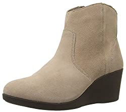 crocs Womens Leigh Suede Tan Boots - W5(203418-265)