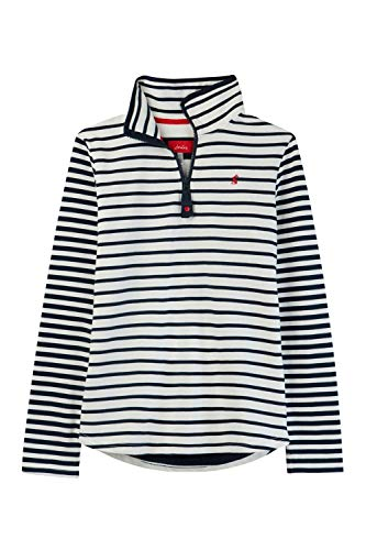 Joules Womens Fairdale Half Zip Cotton Funnel Neck Sweater -