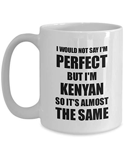 ZonaloDutt Kenianische Tasse Lustige Kenia Geschenkidee f¨¹r M?nner Frauen Stolz Zitat Im Perfect Gag Neuheit Kaffee Teetasse Lustiges Kenianisches Geschenk f¨¹r Kenianische Gegenwart