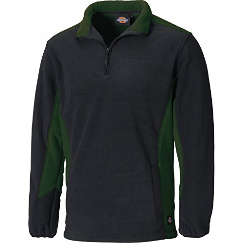 Dickies Fleece-Pullover »Two Tone Micro Fleece« verde oliva/negro