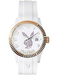 Playboy EVEN38WP - Reloj de pulsera unisex