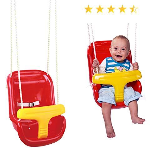 Izzy Baby-Schaukel hoch, ab 6 Monate bis 3 Jahre, Sicherheitsbügel, Gurt, Tür-Rahmen