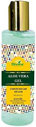 Divine India Aloe Vera Gel, 200ml