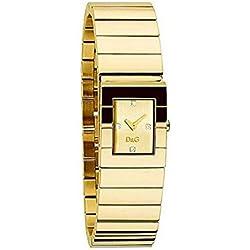 5f26385bd96d D G Reloj analogico para Mujer de Cuarzo con Correa en Acero Inoxidable  DW0329
