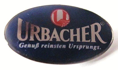 Urbacher - Genuß reinsten Ursprungs - Pin 25 x 15 (Schmuck Kostüm Genuss)