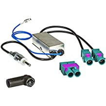 Antennen & Zubehör tomzz Audio 7339-001 T-Kabel ISO für Opel bis 2004 zur Einspeisung von Freisprecheinrichtung ISO Verstärker für THB Parrot Dabendorf i-sotec Match