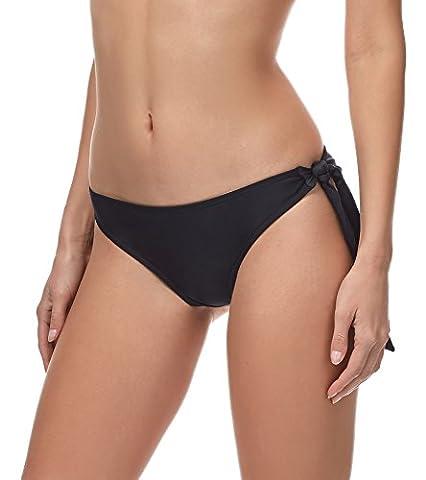 Merry Style Damen Bikini Slip MSVR3(Schwarz, 36)