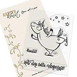 """'Clear Stamp Set di timbro di gomma–sacchetto del arte Barney il pattinatore sul ghiaccio """""""