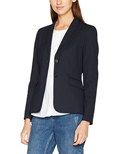 s.Oliver BLACK LABEL Damen Blazer 1899543919, Blau (Love Blue 5959), 38