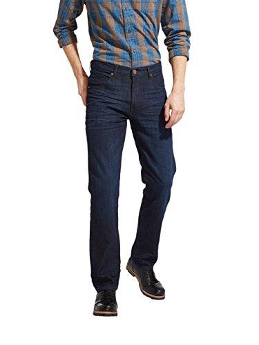Wrangler Wrangler Herren Jeans Arizona Stretch Regular Fit - Blau - Best Blue, Größe:W 36 L 36, Farbe:Best Blue (W12OXG97K)