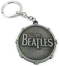 Key Era The Beatles Metal Keychain (Grey)