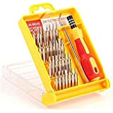 SLB Works 1set 32 In 1 Precision Screw Tool Kit Torx Driver Set Household Screwdriver Disassemble Tool Combination Shedding Tool