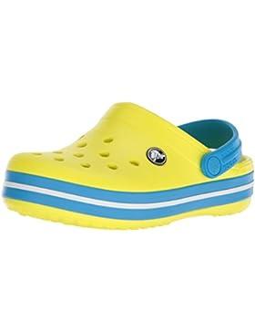 Crocs Crocband Clog K Navy/Red, Zuecos Unisex Niños