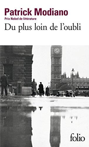 Du plus loin de l'oubli (Folio) por Patrick Modiano