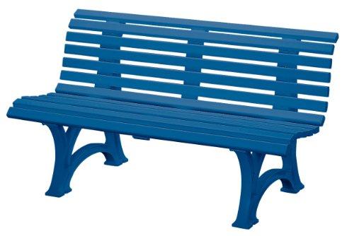 Blome-Tillmann Gartenbank 'Neptun/Helgoland' Kunststoffgestell blau